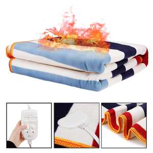 Image 2 - 150x180cm 220V Automatic Electric Heating Thermostat Throw Blanket Double Body Warmer Bed Mattress Electric Heated Carpets Mat