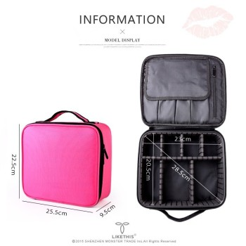 2019 Professional Toiletry Bag Cosmetic Bag Organizer Women Travel Make Up Cases Big Capacity Cosmetics Suitcases For Makeup X32 3