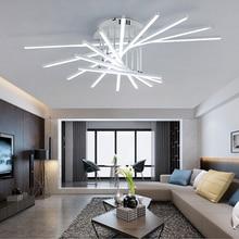 Fashional Creative modern LED chandelier lighting for livingroom Bedroom led chandeliers luminarias para teto lamparas de techo red crystal chandelier led indoor lighting bedroom lamparas de cristal lustres de teto luminaire chandeliers for dining lights