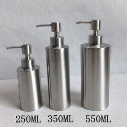 Высококачественная нержавеющая сталь диспенсер для мыла дезинфицирующее средство для рук в эмульсионной бутылке приспособление для ванно...