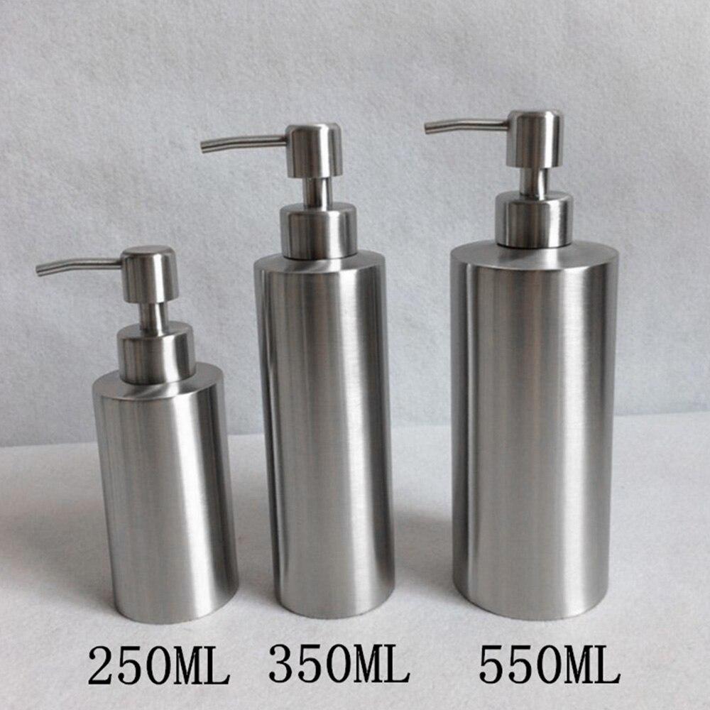 Hohe Qualität Edelstahl Seife Spender Hand Sanitizer In Emulsion Flasche Bad Leuchte Bad Hardware