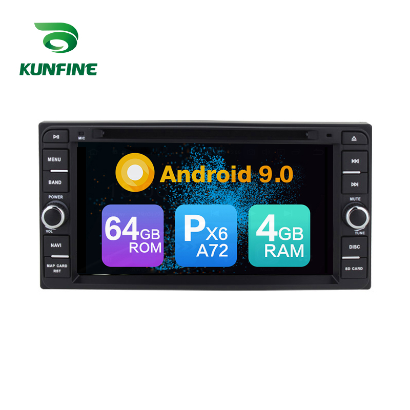 Android 9.0 Core PX6 A72 Ram 4G Rom 64G Car DVD GPS Multimedia Player Car Stereo For <font><b>Toyota</b></font> <font><b>Corolla</b></font> <font><b>COROLLA</b></font> EX <font><b>radio</b></font> headunit image