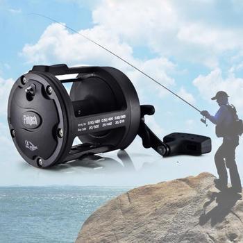 Trolling Reel Fishing TSSD 3000L-4000L Black Right Hand Casting Sea Fishing Reel Saltwater Baitcasting Reel Coil цена 2017