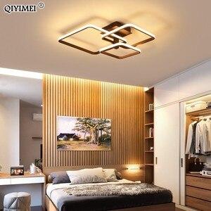 Image 3 - جديد LED ضوء السقف لغرفة المعيشة غرفة الطعام غرفة نوم عكس الضوء مع البعيد الأبيض القهوة الإطار تركيبة إضاءة lamvillage دي تيكو