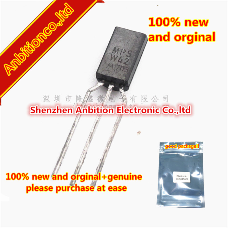 10pcs 100% new and orginal TO 92L MPSW42 One Watt High Voltage Transistor in stock|Phone Accessory Bundles & Sets|   - AliExpress