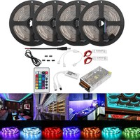 AC110 240V 20M 2835 RGB Flexible Waterproof LED Strip Light Kit Alexa Smart Home Wifi Control APP Wireless Control TV Light