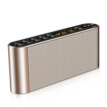 Multifunction Audio Music Player Wireless Stereo Home Radio Receiver Microphone Hands Free Portable Bluetooth Speaker Digital