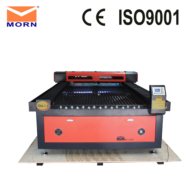 4X8 feet acrylic sheet rubber plywood CNC CO2 laser cutting machine 1325 DIY laser engraving cutter