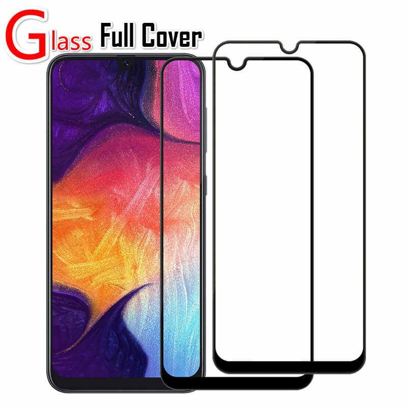 9H Tempered Glass For Samsung Galaxy A20E A60 A80 A90 A40 A70 Full Cover on S10E M10 M20 M30 A30 A50 Guard Screen Protector Case