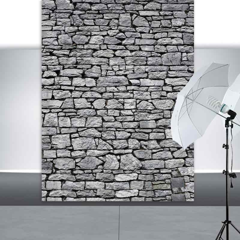 Fondos de fotografía con textura de piedra de ladrillo, pared, piso de madera, fondos para estudio de fotos de juguetes, Baby Shower, recién nacidos y niños