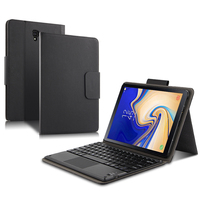 Case For Samsung Galaxy Tab S4 10.5 SM T830 T835 T837 Bluetooth keyboard Protective Cover PU Leather Tab S4 10.5 Tablet PC Case