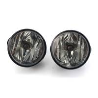 Pair Smoked For 2007 2014 Ford Expedition 08 Ranger Bumper Fog Lights W/Switch