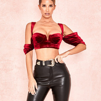 sexy red bralette crop tops top women cropped feminino streetwear clothes women clothes bustier top feminino ropa mujer