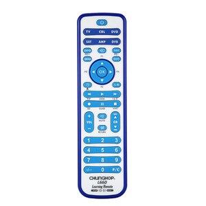 Image 1 - CHUNGHOP copie combinatoire télécommande universelle dapprentissage pour TV/SAT/DVD/CBL/DVB T/AUX 3D SMART TV CE 1 pièces L660 copie