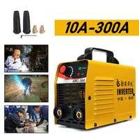 ARC 300 220V LCD Electric IGBT Inverter MMA ARC ZX7 Portable Welding Machine