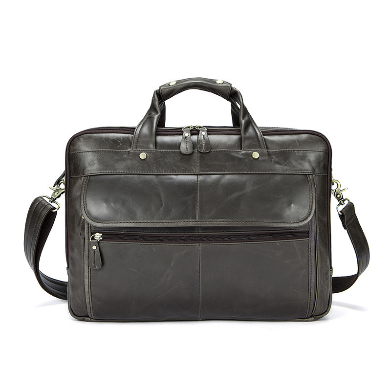 Men Shoulder Bags Office Man Handbags Briefcases Male Genuine Leather Men Bags For Document Leather Laptop Bag Messenger Bag