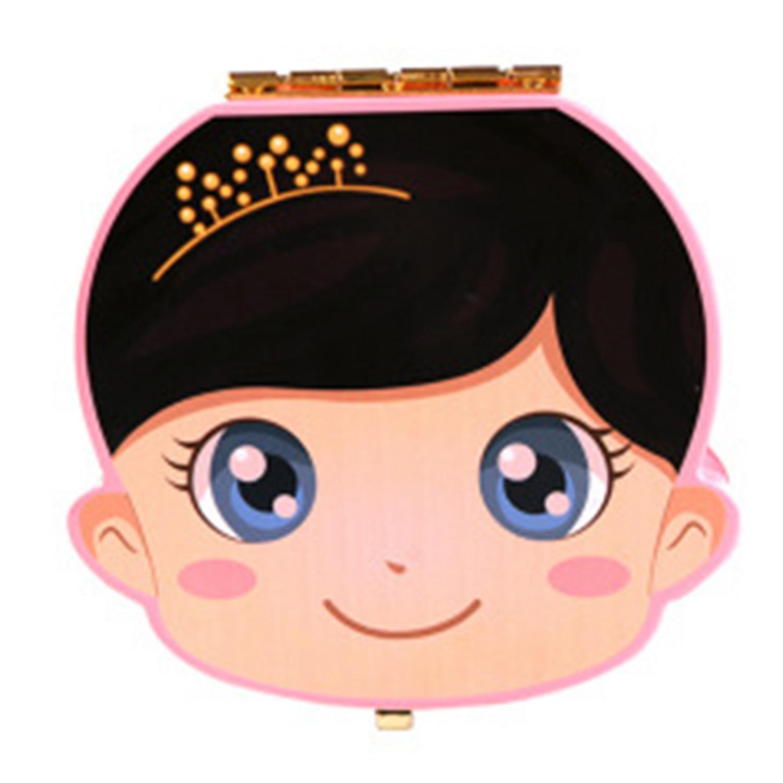 FBIL-Baby Tooth Box Wooden Milk Teeth Organizer Storage Boys Girls Save Souvenir Case Gift Creative Baby Tooth Organizer For K