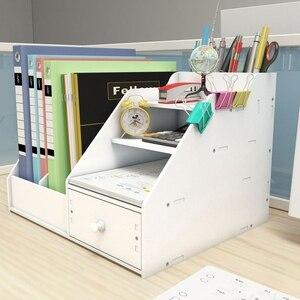 Image 5 - Органайзер держатель для книг, органайзер для журналов, настольный держатель для книг, хранение канцелярских принадлежностей, стеллаж для полки
