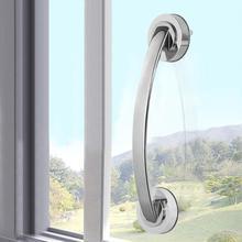1 шт., Вакуумная присоска, рукоятка для поручней, для ванной, безопасная ручка для помощи детям, старшим, поручень, противоскользящий для стеклянной двери, Bathroo