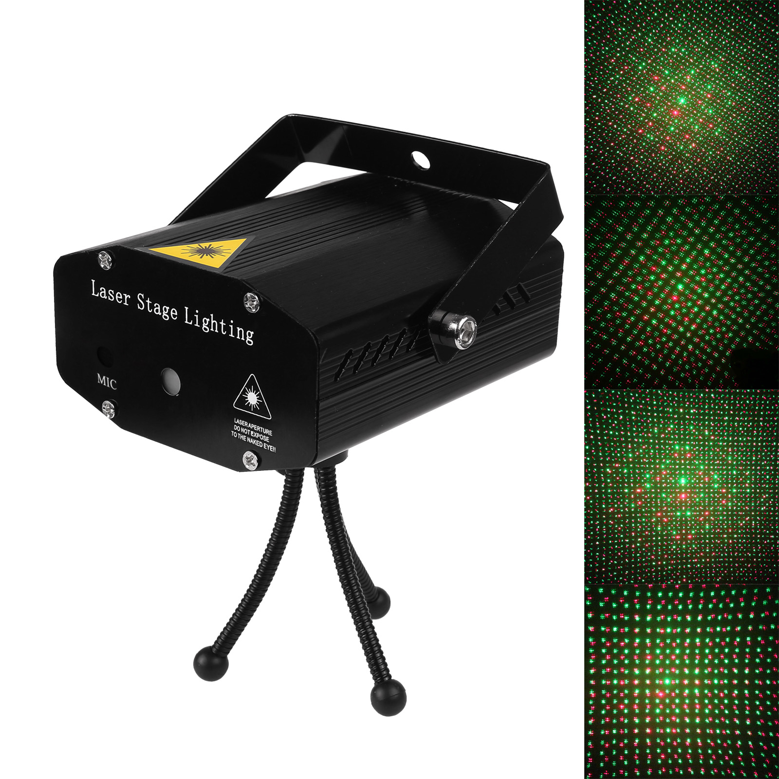 Projector Lamp Decorations Laser Light Voice-activated DJ Party Club Light Valentines Day Mini LED Laser Stage Laser LightingProjector Lamp Decorations Laser Light Voice-activated DJ Party Club Light Valentines Day Mini LED Laser Stage Laser Lighting