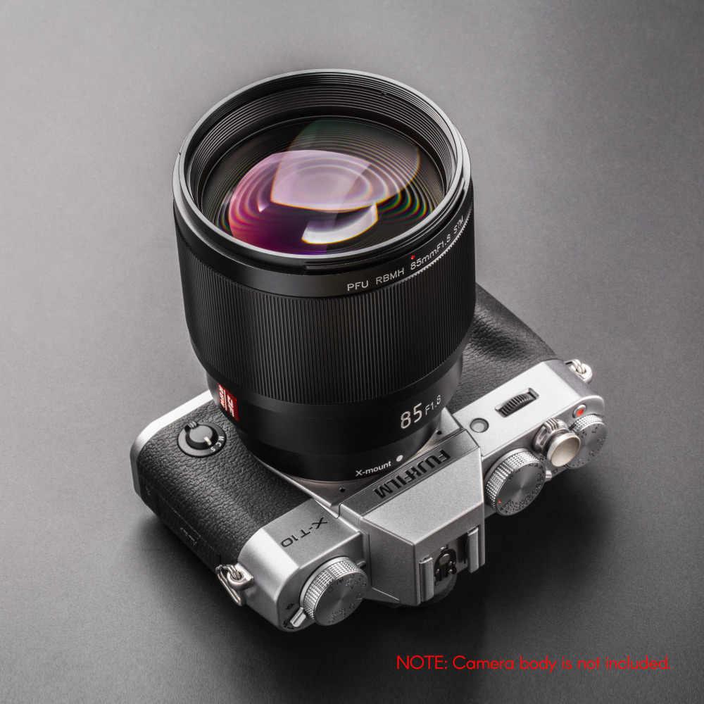 Viltrox 85 мм F1.8 объектив портретный объектив STM AF Камера полная Рамка для ЖК-дисплея с подсветкой Fujifilm X-Mount X-T3 X-T2 X-T100 X-A5 X-H1 X-Pro2 Камера