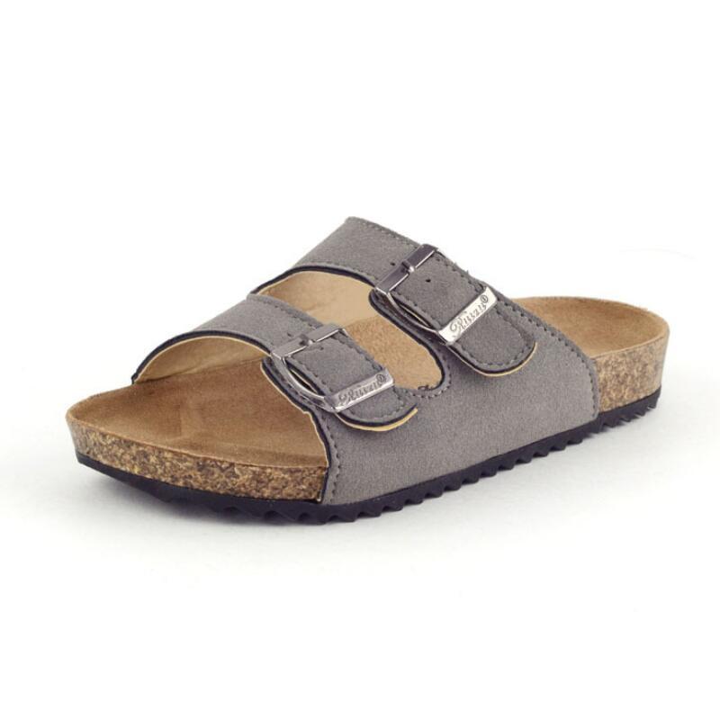 Summer New Children's Sandals Boys Beach Slippers Fashion Girls Casual Cork Sandals Non-slip Children's Flip-flops Size 22-37