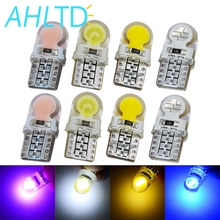 T10 LED Bulb 194 168 COB Marker Side Wedge White W5W Dome Readling Lights License Plate Led Trunk Lamp Auto Bulbs 12V