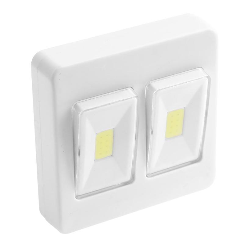 Indoor Garage Wall Lights: COB LED Small Wall Night Lights Switch Garage Closet Lamp