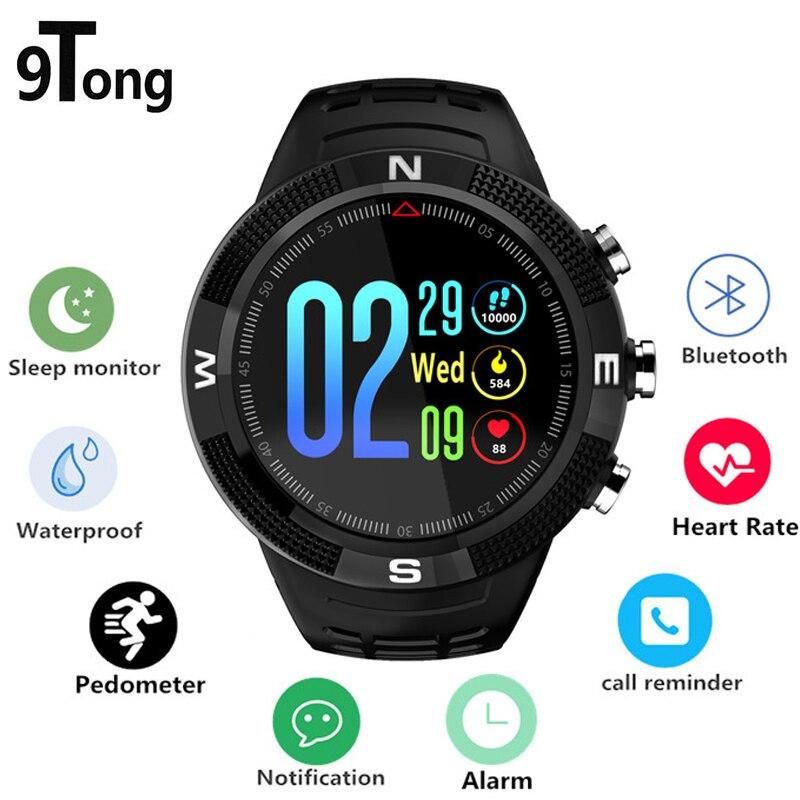 цена на 9Tong GPS Smartwatch IP68 Waterproof Smart Watch Hear Rate Monitor Multi Sport Mode Swimming Smart Watches Men Massage Reminder