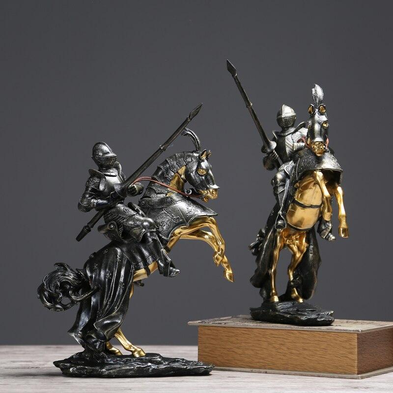 Creative Knight décor à la maison salon TV armoire décoration accessoires artisanat ameublement