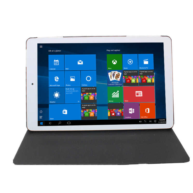 8.9 pouces tablette PC Window10 3D Retina affichage 2GB + 32GB Quad core intel Atom1920 * 1200 WIFI HDMI + étui en cuir d'origine tablette
