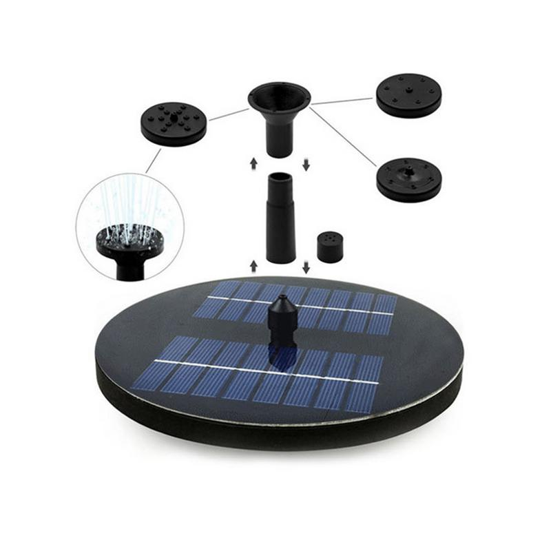 Solar Fountain Floating Outdoor Garden Pond Watering Water Pump Gardening Garden Pond Without BatterySolar Fountain Floating Outdoor Garden Pond Watering Water Pump Gardening Garden Pond Without Battery