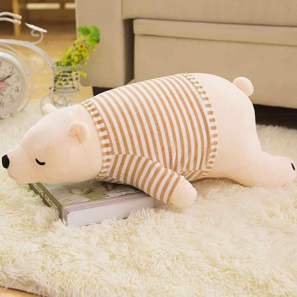 Sevgililer günü hediye bebek oyuncakları doldurulmuş hayvanlar yeni kutup ayısı peluş oyuncak bebek yumuşak peluş bebek yastık sevimli sarılın yatak yastık