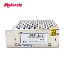 лучшая цена 35W Single Output Adjustable Switching power supply for LED Strip light AC-DC Converter 12V 24V 36V 48V From Makerele