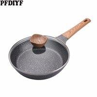 20-28 см медицинская каменная антипригарная сковорода новая Блинная сковорода для стейка без испарений с/без крышки используется для газовой...