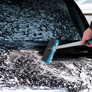 Image 5 - Original Car Wash Brush Portable Telescopic Adjusting Switch Design Water Control Durable Leak proof Cleaning Tool for Auto Car