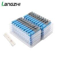 Langzhi 100 PCS SC Optic Fiber Quick Cold FTTH SC Single Mode UPC Fast Connector