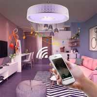 Intelligente di Musica HA CONDOTTO LA Luce di Soffitto Bluetooth 4.0 di Musica di Controllo e di Colore Che Cambia Surface Mounted Lampada con Timer di Controllo APP