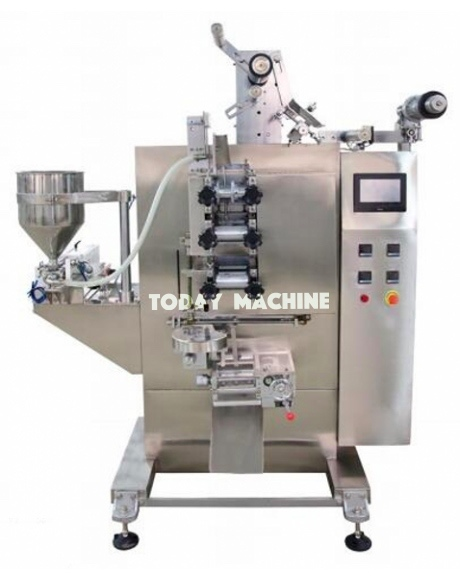 automatic peanut butter sachet filling and packing machine