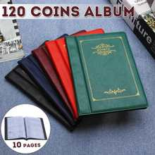 120 карманов Мини Пенни Монета Альбом для хранения книг коллекционирование монет держатель Альбом для монет Коллекционная книга для коллекционеров подарки