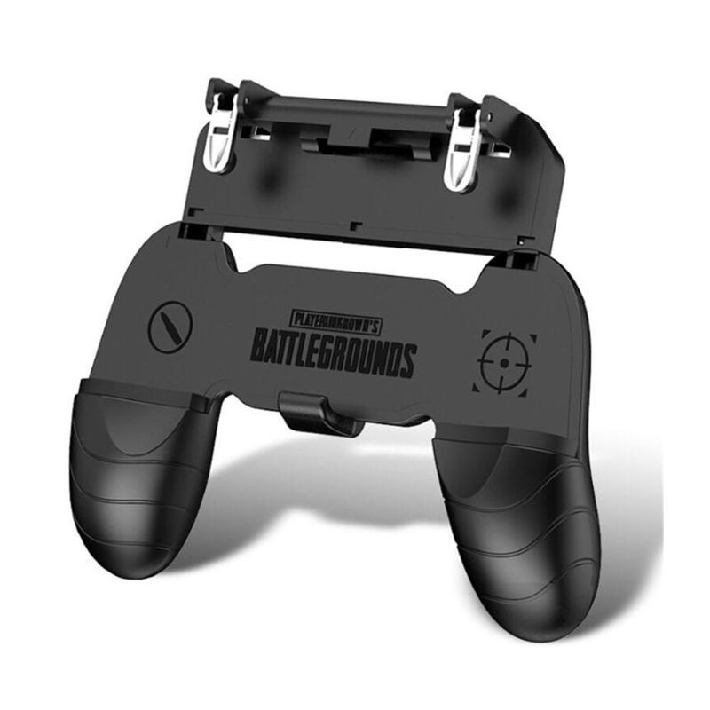 W18 Smart Phone Gaming Trigger for PUBG Gamepad Fire Button Aim Key Shooter Handle Grip Controller Game Joystick Accessories