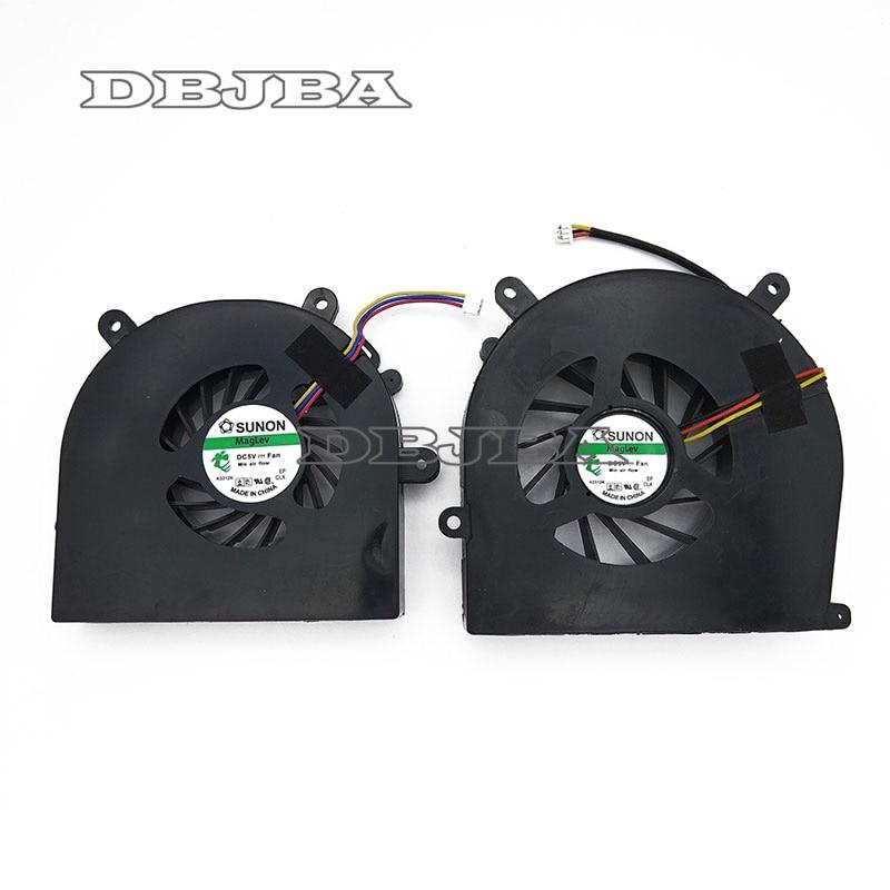 Nouveau ventilateur pour Clevo Sager NP9150 NP8150 NP8130 NP8170 6-23-AX510-012 6-31-X720S-101 GPU + CPU