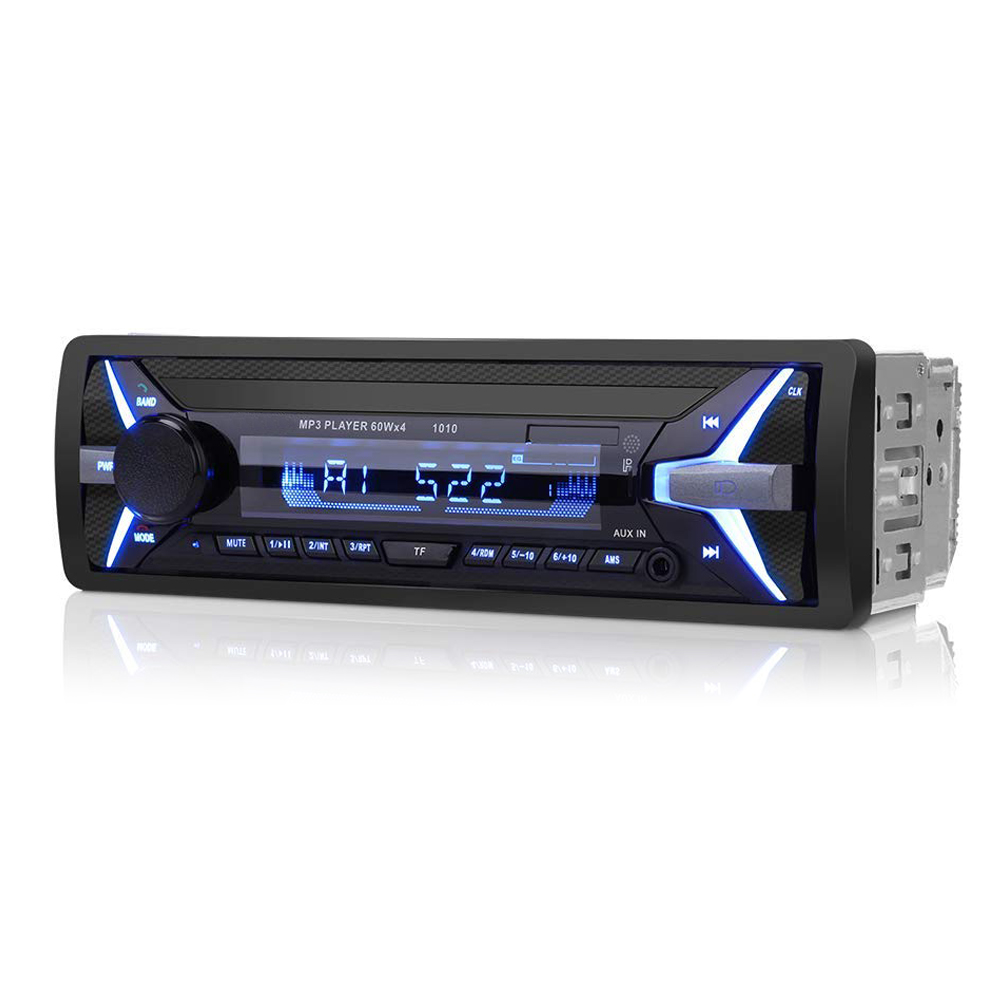 12V LCD Display Remote Control Bluetooth Multifunctional Auto Radio FM Hi Fi USB AUX Stereo Adapter Car Player MP3 Vehicle