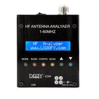English verison 1 60MHZ MR300 QRP SARK100 Bluetooth Shortwave Antenna Analyzer battery 12V 18V Antenna Analyzer Meter Tester