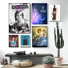 Life Is Strange The Storm Video Game Posters And Prints Canvas Art Painting Wall Pictures For Living Room Decoration Home Decor life is strange before the storm особое издание xbox one