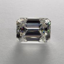 7*9mm Emerald Cut 2.23 carat VVS Moissanite Super White Loose Diamond for Wedding Ring