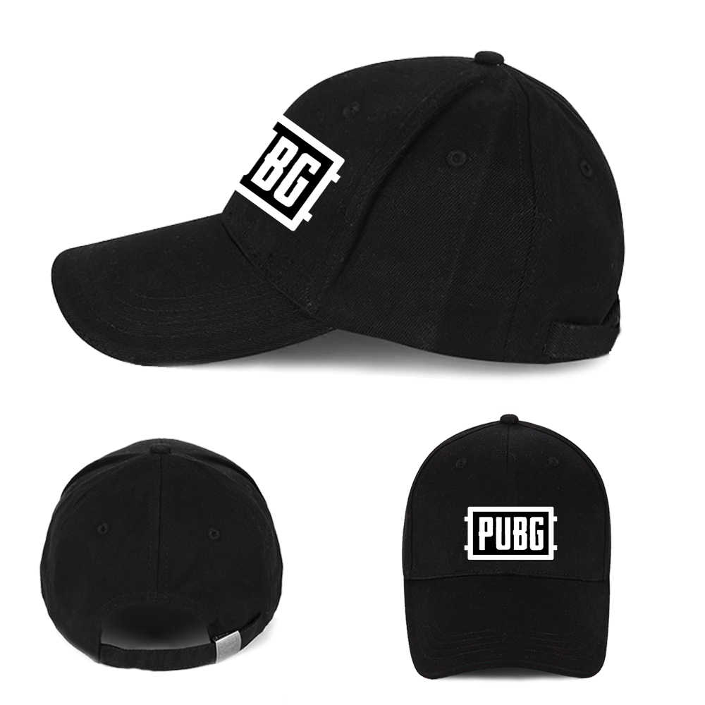 finest selection b8a61 3f210 Giancomics Playerunknown s Battlegrouds Baseball Cap Hot Game PUBG Letters  Logo Hip Hop Hat Leisure Cap Cool