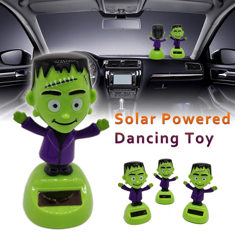 Rational Auto Interior Accessories Cute Dashboard Decoration Car Ornament Swing Monkey Car Styling Solar Powered Animal Doll High Standard In Quality And Hygiene Automobiles & Motorcycles