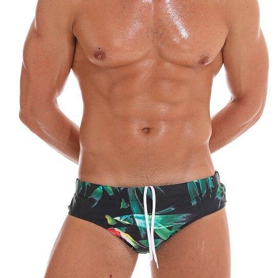 6a2f53f73aa1b 2019 Sexy Push Up Pad Men Swimsuit Bikini Mens Swim Briefs Gay Swimwear  Swimming Trunk Pouch Padded Surf Bathing Suit Beachwear