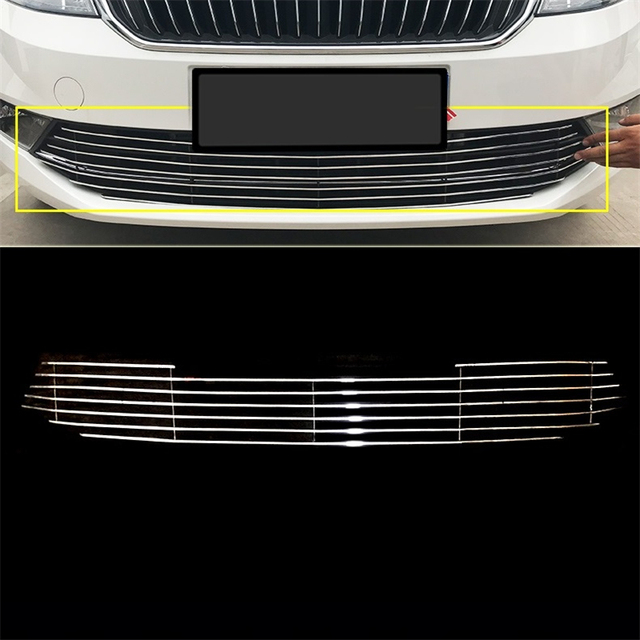 Protector Mouldings Automovil Styling Exterior Decoration Modification Car Accessories Racing Grills 14 15 16 18 FOR Skoda Rapid